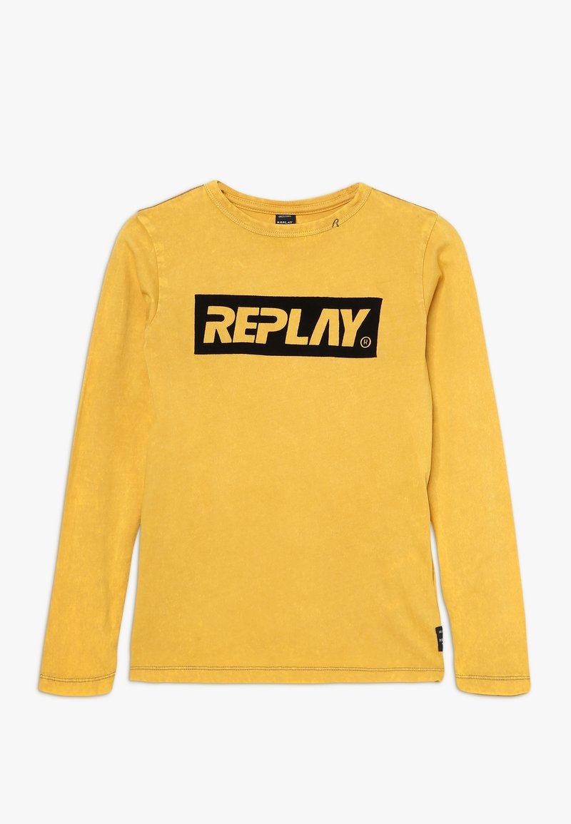 Replay - Long sleeved top - mustard yellow