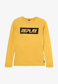 Replay - Long sleeved top - mustard yellow - 2