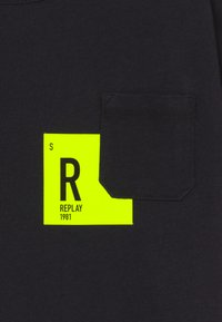 Replay - T-shirt con stampa - blackboard