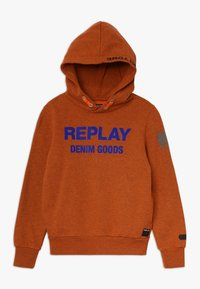 Replay - Hoodie - brown - 0