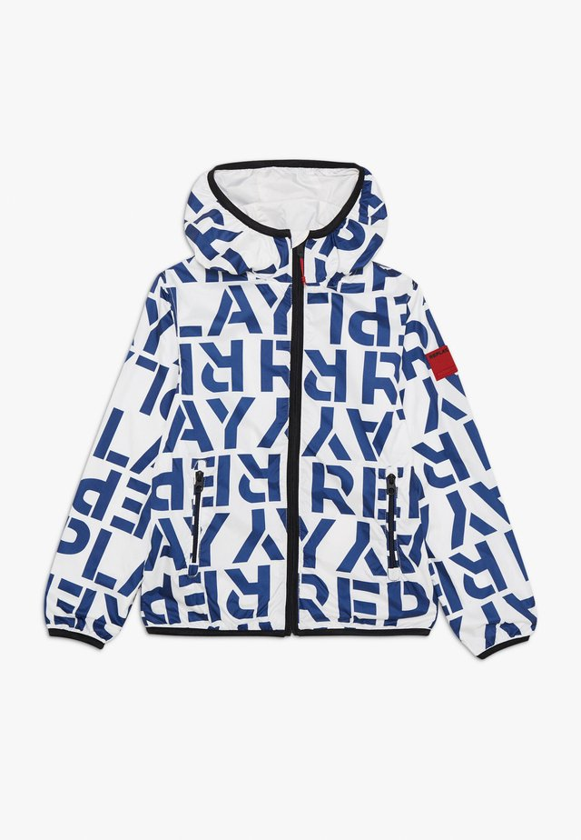 Light jacket - white/blue