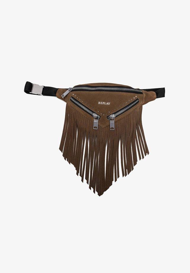 Bum bag - amber brown