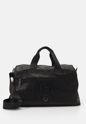 PRINTED MATT UNISEX - Weekend bag - black