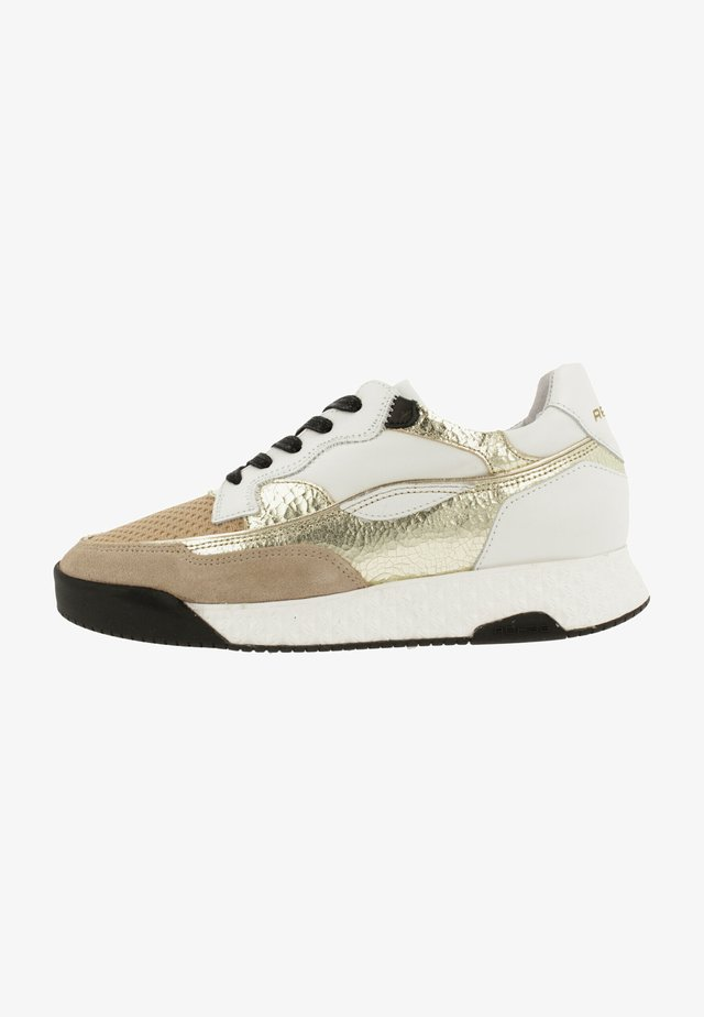 ASHLEY MET - Sneakers laag - beige
