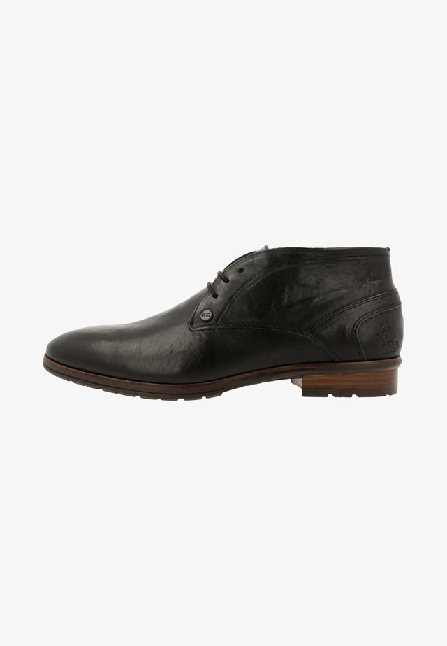 CAIN  - Veterschoenen - black