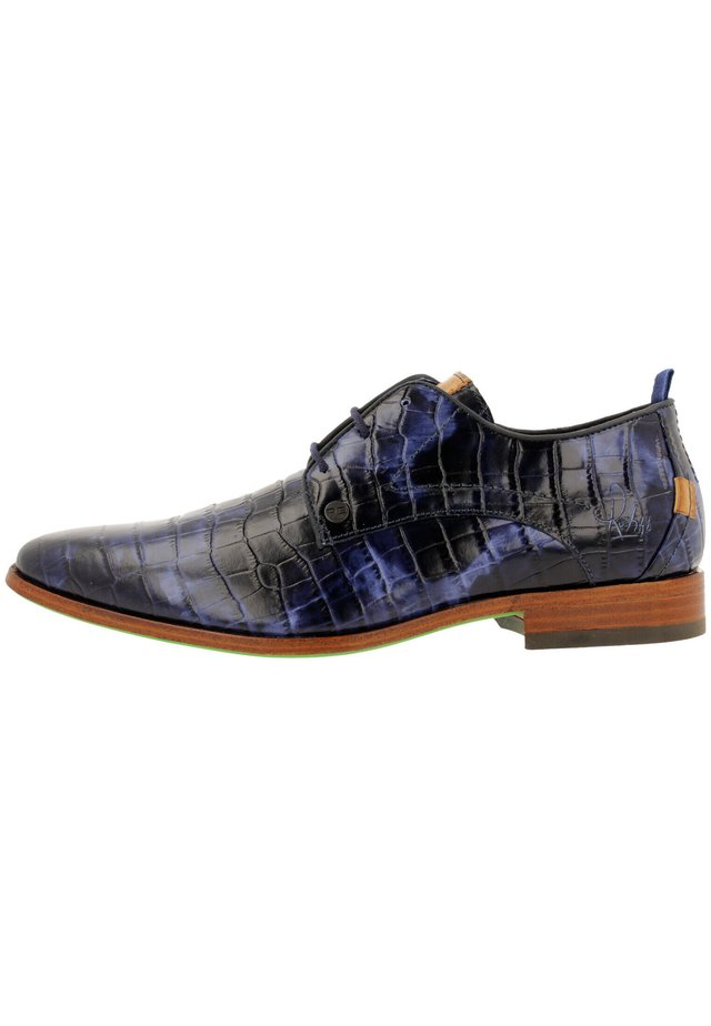 GREG CROCO  - Veterschoenen - blue