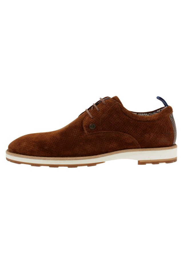 POZATO  - Casual lace-ups - brown