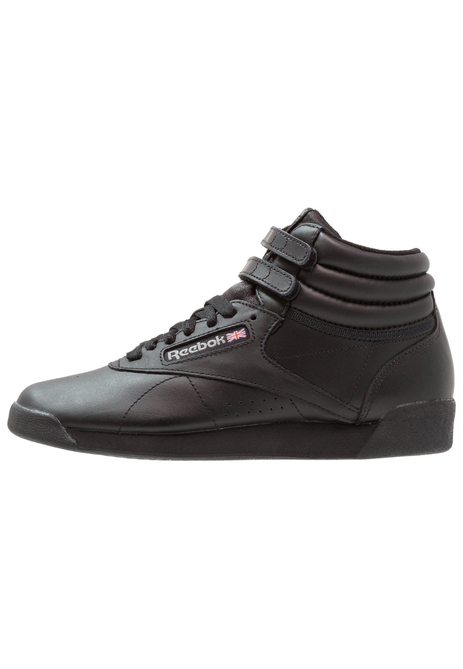 FREESTYLE HI LIGHT SOFT LEATHER SHOES Sneakers alte black