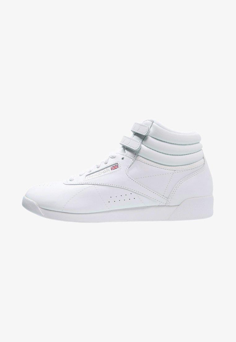 Reebok Classic - FREESTYLE - Höga sneakers - white/silver