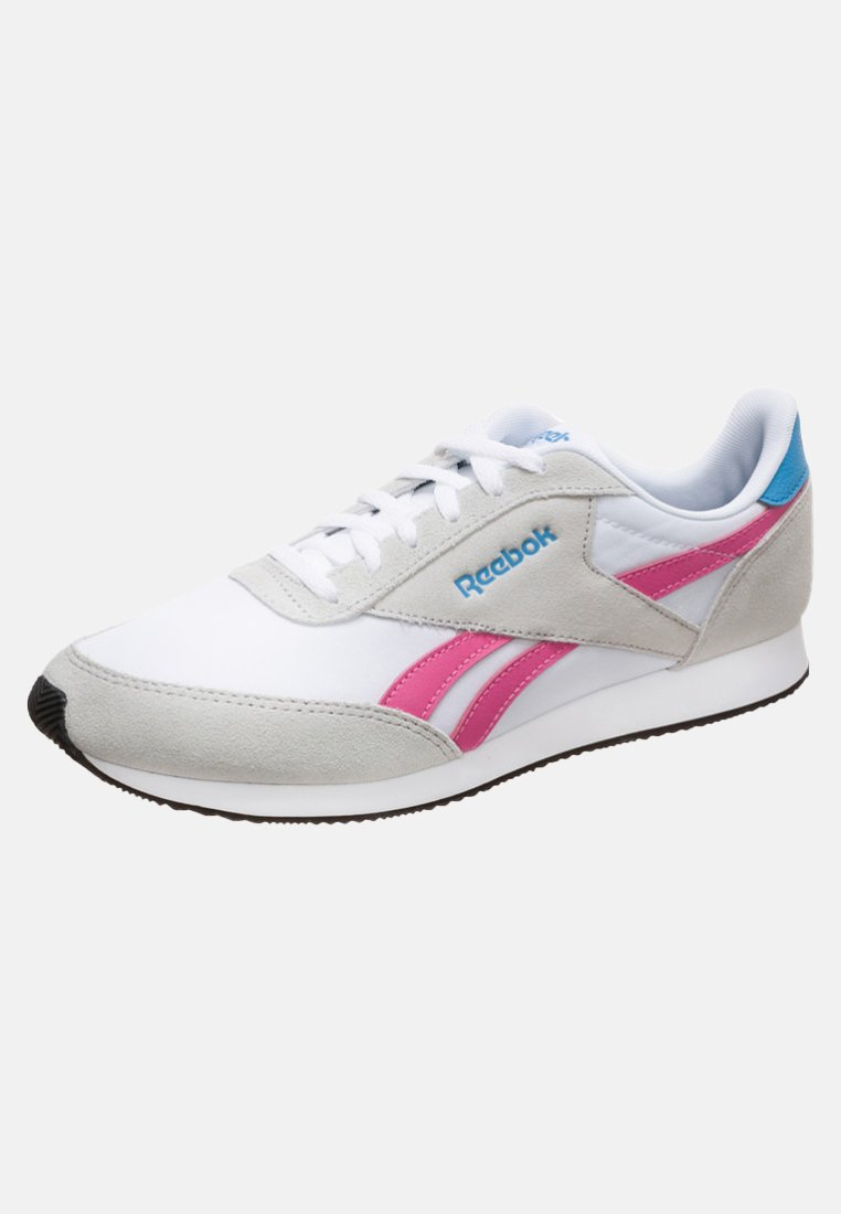 Grey Reebok pink cyan Basses Baskets F1TKJ3ulc