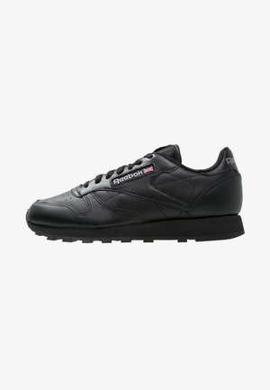 CLASSIC LEATHER LOW-CUT DESIGN SHOES - Sneakers basse - black