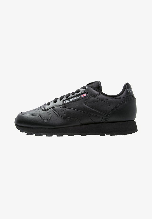 CLASSIC LEATHER LOW-CUT DESIGN SHOES - Sneakers - black