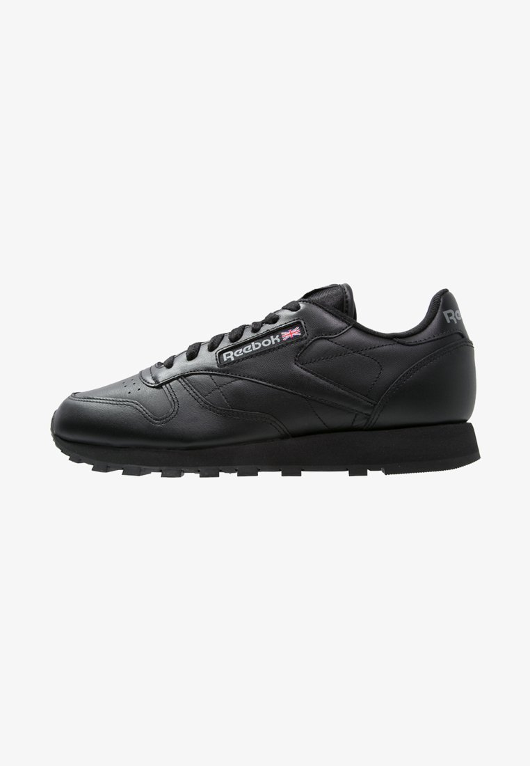 Reebok Classic - CLASSIC LEATHER LOW-CUT DESIGN SHOES - Trainers - black