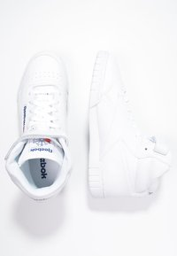 Reebok Classic - EX-O-FIT LEATHER SHOES - Baskets montantes - white - 1