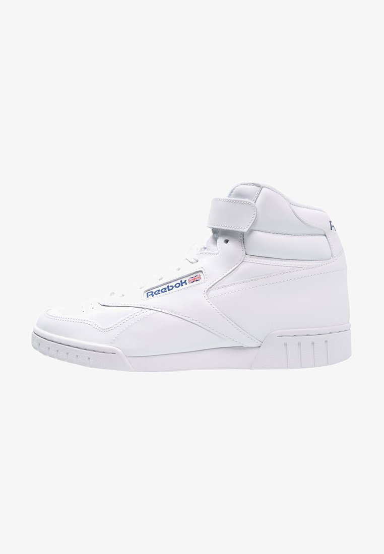 Reebok Classic - EX-O-FIT LEATHER SHOES - Baskets montantes - white