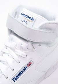 Reebok Classic - EX-O-FIT LEATHER SHOES - Baskets montantes - white - 5