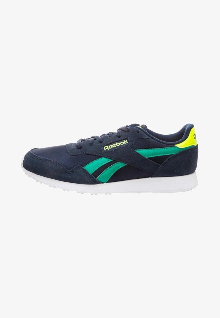 Reebok - ROYAL ULTRA - Sneaker low - navy/emerald/yellow