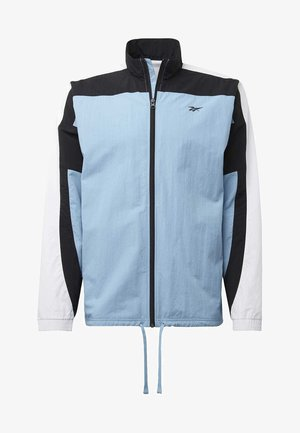 LES MILLS® TRACK JACKET - Trainingsvest - blue
