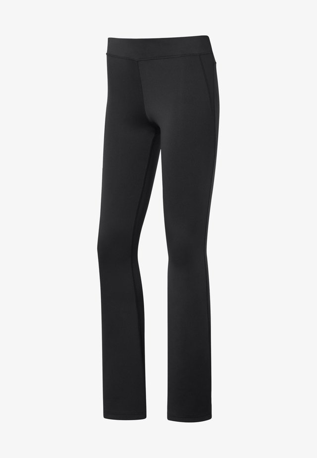 WORKOUT READY BOOT CUT PANTS - Tygbyxor - black