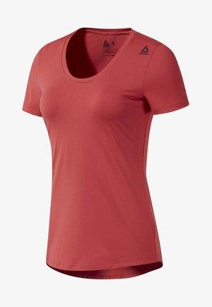 WORKOUT READY SPEEDWICK TEE - Print T-shirt - rebel red
