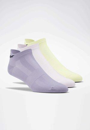 ONE SERIES TRAINING SOCKS 3 PAIRS - Trainer socks - yellow