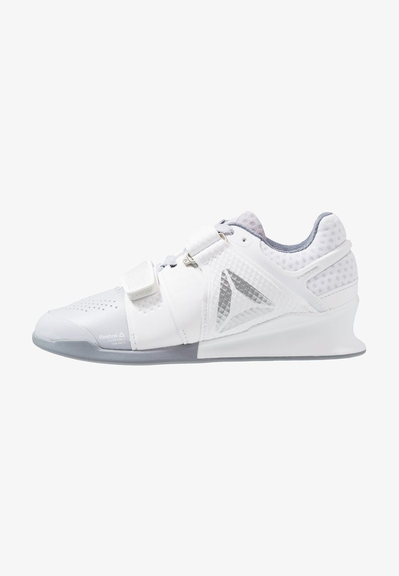 Reebok - LEGACYLIFTER - Sports shoes - white/cold grey/silver