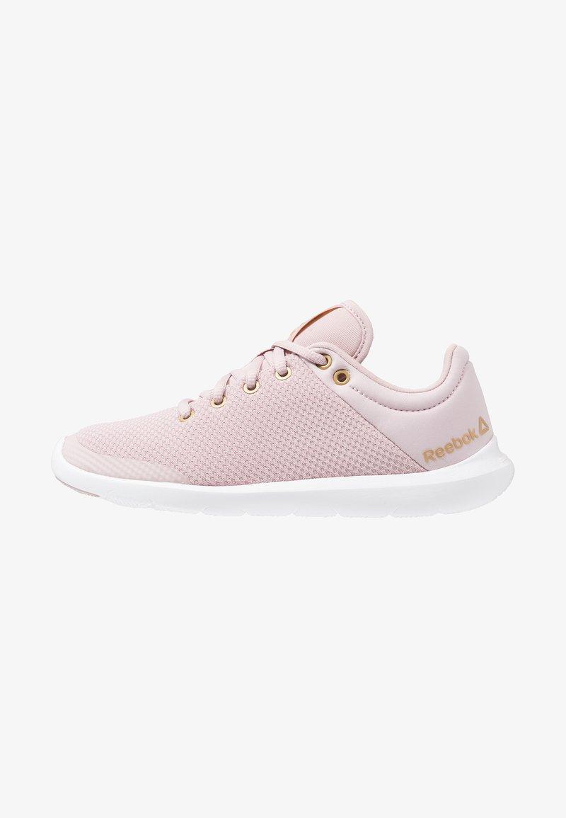 Reebok - STUDIO BASICS - Sports shoes - lilac/white/brass