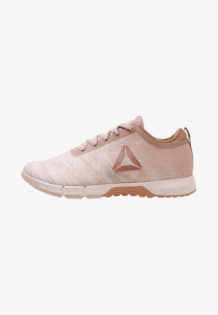 Reebok - SPEED HER TR - Sports shoes - beige/brown/white