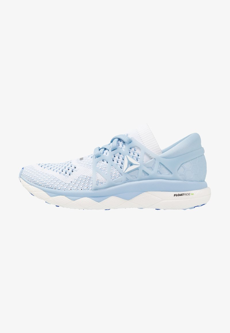 Reebok - FLOATRIDE RUN - Neutral running shoes - white/denim/cobalt