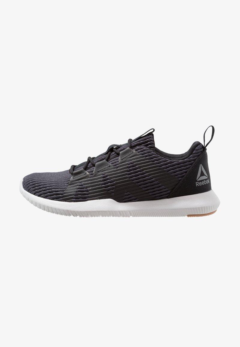 Reebok - REAGO PULSE - Sports shoes - coal/black/tan/grey
