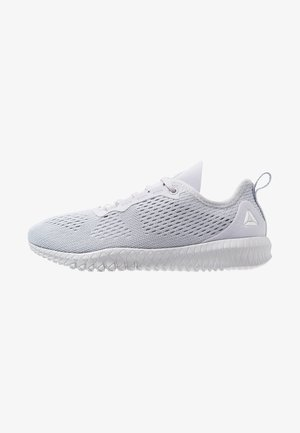 FLEXAGON - Sports shoes - cold grey/white