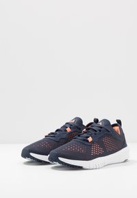 Reebok - FLEXAGON - Sports shoes - navy/sunglow/white - 2