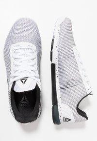 Reebok - SPEED TR FLEXWEAVE TRAINING SHOES - Sports shoes - white/black - 1