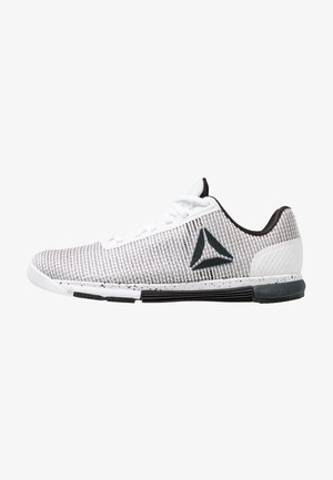 SPEED TR FLEXWEAVE TRAINING SHOES - Sports shoes - white/black