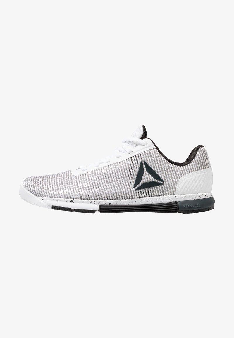 Reebok - SPEED TR FLEXWEAVE TRAINING SHOES - Sports shoes - white/black