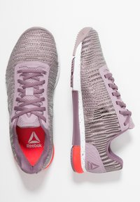 Reebok - SPEED TR FLEXWEAVE TRAINING SHOES - Kuntoilukengät - lilac/orchid/white/red - 1