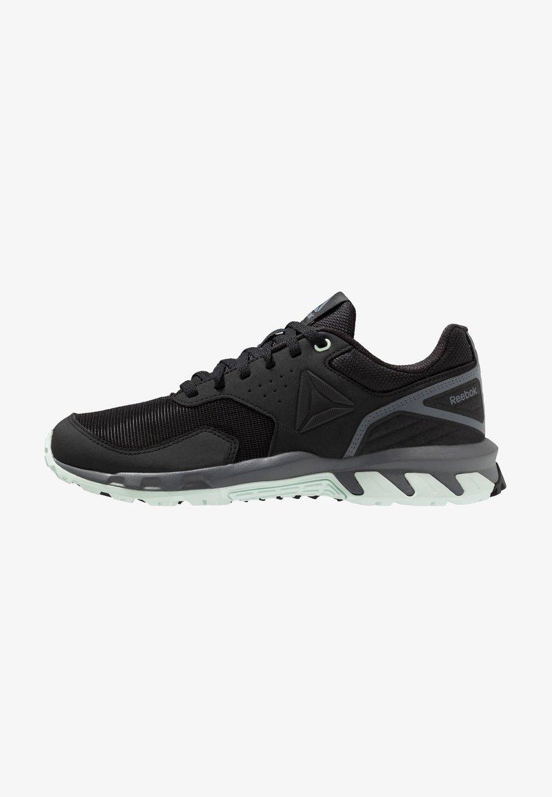 Reebok - RIDGERIDER TRAIL 4.0 - Zapatillas de trail running - black/greyemerald ice