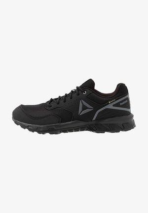 RIDGERIDER TRAIL 4.0 GTX - Trail running shoes - black/grey/silver