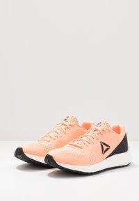 Reebok - FOREVER FLOATRIDE ENERGY - Neutral running shoes - sun glow/black/white - 2