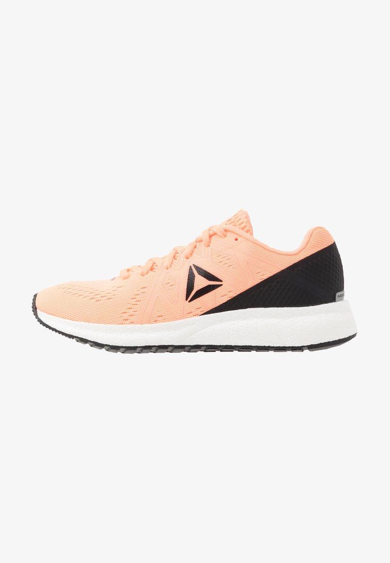 Reebok - FOREVER FLOATRIDE ENERGY - Neutral running shoes - sun glow/black/white