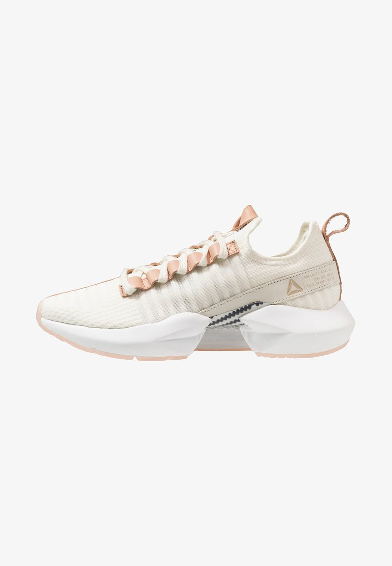 Reebok - SOLE FURY LUX - Laufschuh Neutral - white/tan/black