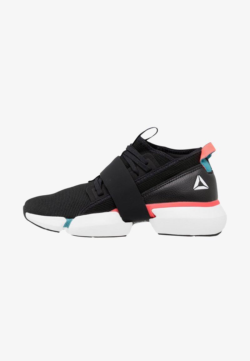 Reebok - SPLIT FLEX - Sports shoes - black/white/red/mineral mist