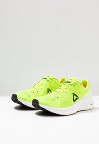 Reebok - FLOATRIDE RUN FAST - Zapatillas de running neutras - lime/white/red/black - 2