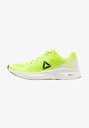FLOATRIDE RUN FAST - Laufschuh Neutral - lime/white/red/black