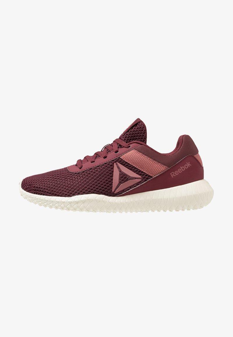 Reebok - FLEXAGON ENERGY TR - Sports shoes - lux maroon/rose dust/chalk