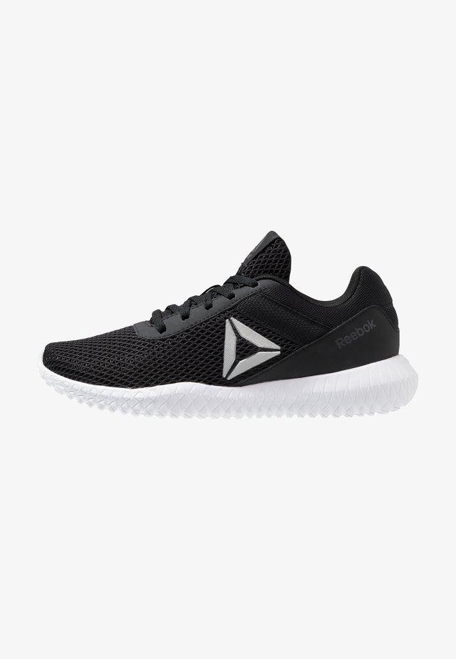 FLEXAGON ENERGY TR - Zapatillas de entrenamiento - black/true grey/silver metallic