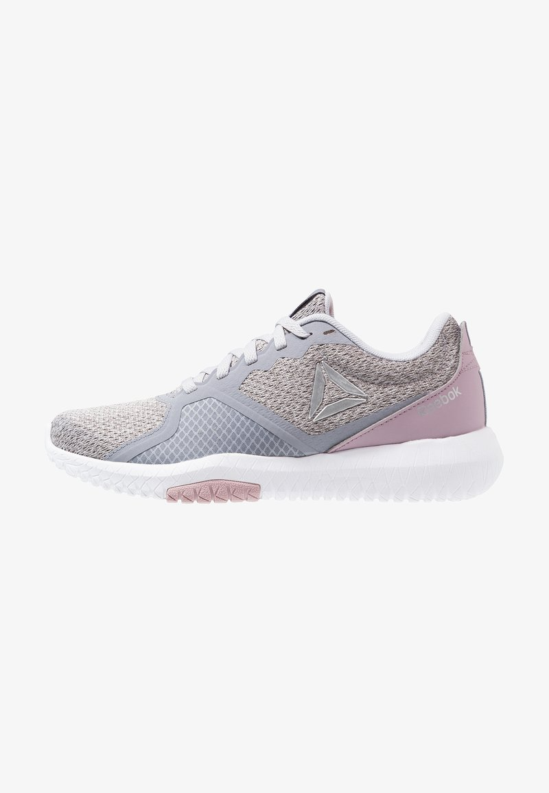 Reebok - FLEXAGON FORCE TRAINING SHOES - Kuntoilukengät - grey/lilac/white/silver