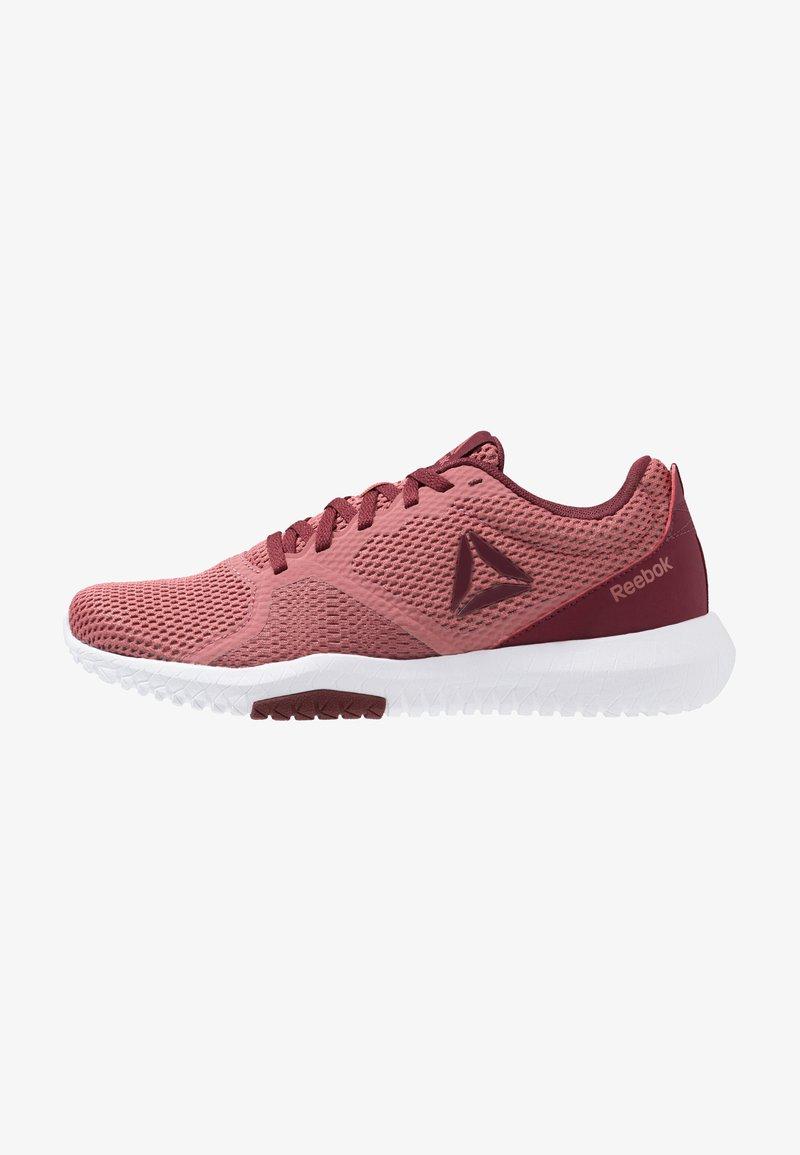 Reebok - REEBOK FLEXAGON FORCE - Sports shoes - rose/maroon/white