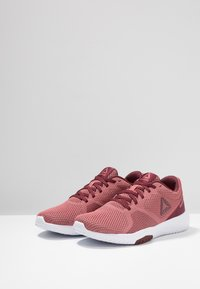 Reebok - REEBOK FLEXAGON FORCE - Sports shoes - rose/maroon/white - 2