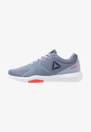 REEBOK FLEXAGON FORCE - Sports shoes - denim/indigo/navy/white